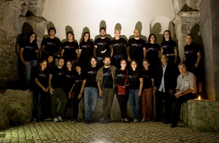 Il gruppo IndieGesta ad IndieJazz 2010
